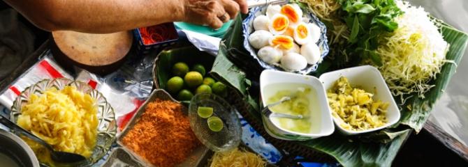 vegetariër thaifood reizen