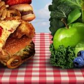 gezond tegen ongezond