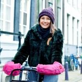 warme handen bij het fietsen