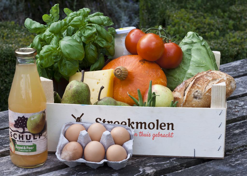 De streekmolen eerlijke producten bij u thuis gebracht de betere wereld - Krat met appel ...