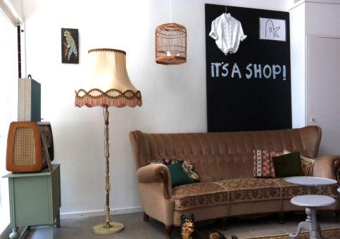 its a shop