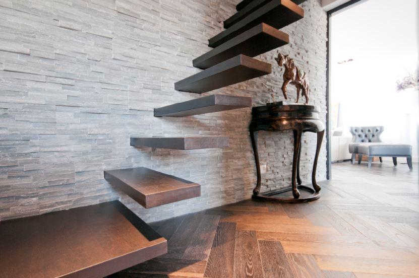 natuursteen muur woonkamer ~ lactate for ., Deco ideeën