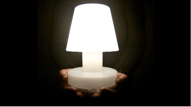 Bloom solar lamp de betere wereld