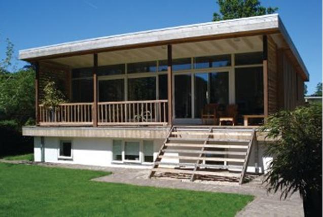 De betere wereld - Veranda modern huis ...