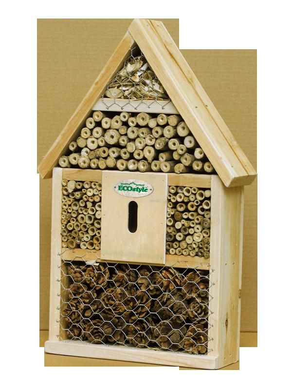 Mail win 1 van de 5 ecostyle insectenhotels de betere wereld - Terras schuilplaats ...