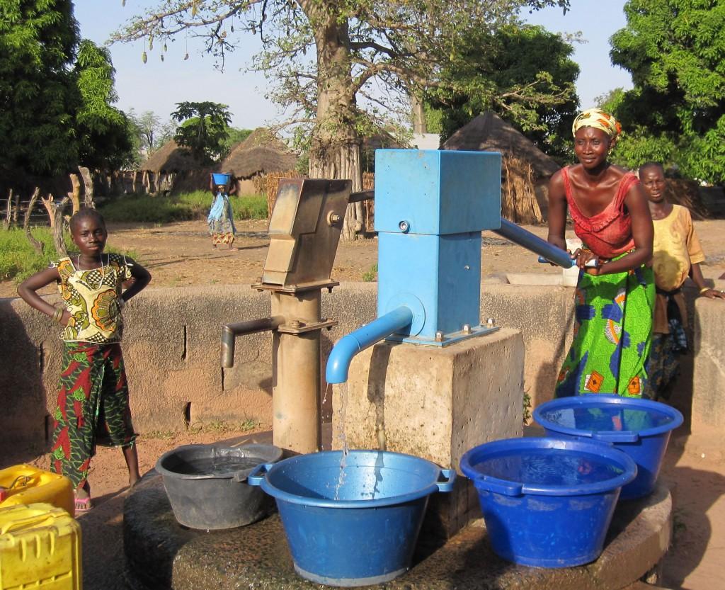 Met de BluePump hebben de mensen water zonder hoge reparatie kosten