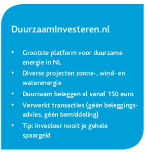 duurzaam investeren