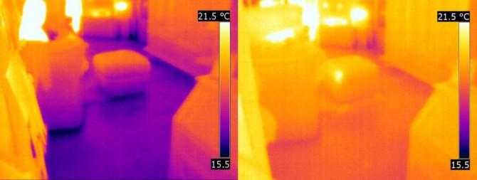 tonzon infrarood