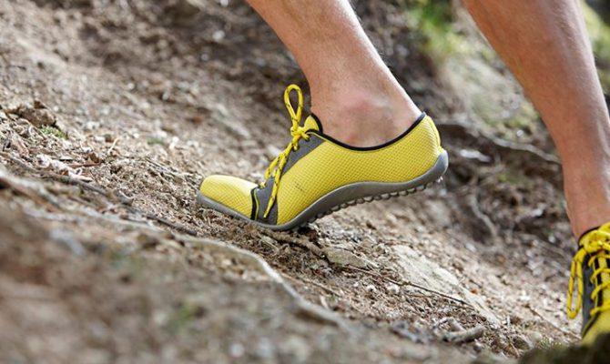 barefoot hardlopen