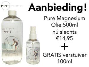 magnesium olie voor soepele spieren